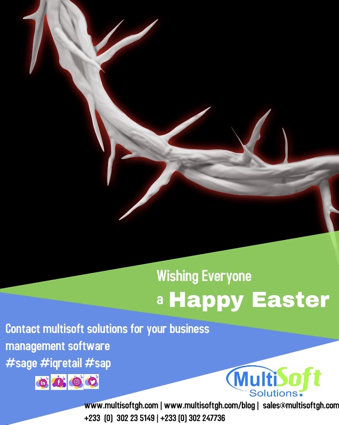 Multisoft Solutions Wishes You Happy Easter